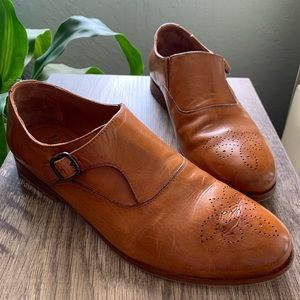 Johnston & Murphy Brown Wing Tip Shoes